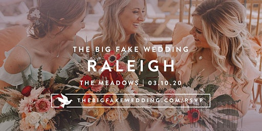 The Big Fake Wedding Raleigh
