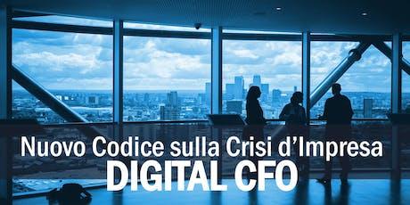 DIGITAL CFO: la tua azienda è protetta dal Rischio di Crisi Aziendale? biglietti