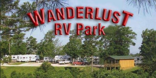 CAMP MOIX - WANDERLUST RV RESORT, EUREKA, SPRINGS - AUGUST 2020