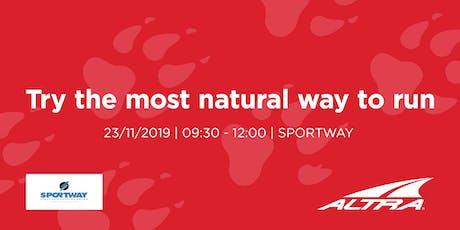 Altra Test Shoes - Sportway Conegliano biglietti