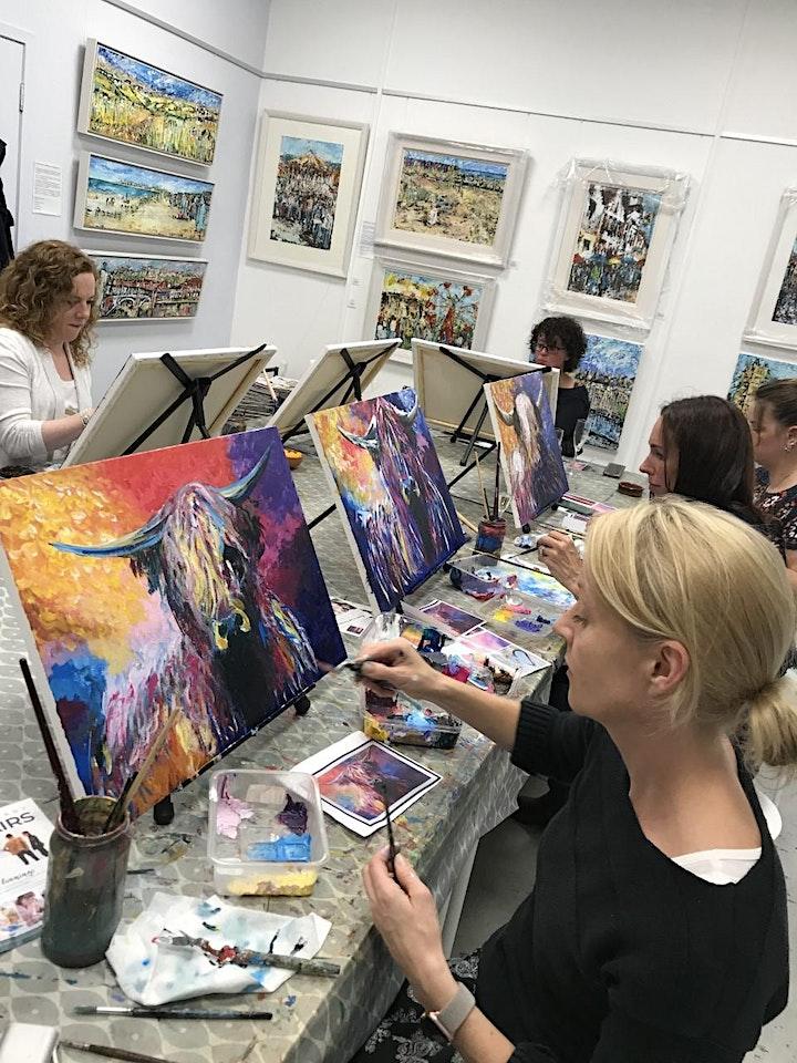 Paint & Sip Evenings @ Papercourt Studio image