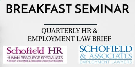 Schofield HR - Breakfast Seminar - HR & Employment Law Update (inc. Brexit) tickets