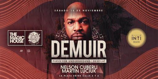 The Magic House presenta DEMUIR / Sábado 16 Noviembre - INTI Beach