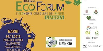 EcoForum - l'Economia Circolare dei Rifiuti in Umbria