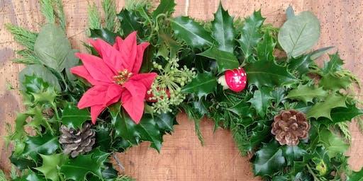 Holly Wreath Workshop