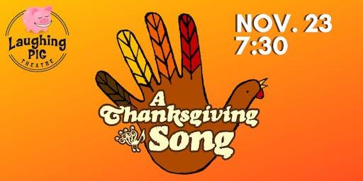 A Thanksgiving Song