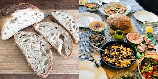St Leonard's Organic Sourdough Baking Class & Brunch