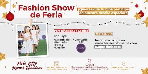 Fashion Show de la Feria Estilo Mamá Navideña
