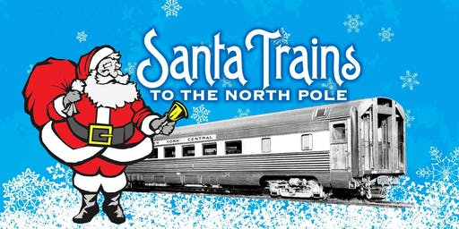 Real Santa Trains to the North Pole