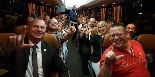 Team Bus nach Mannheim