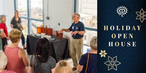 Holiday Open House Factory Tours