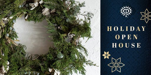 Holiday Open House  Wreath Workshop + Brunch with Una Floral