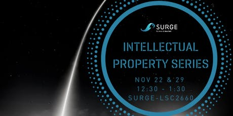 SURGE - Intellectual Property Series tickets