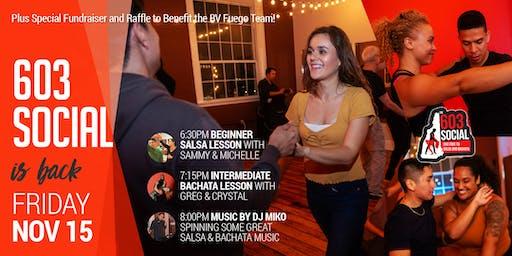 603 Salsa and Bachata Social | Friday, November 15