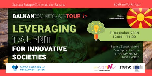 How can we leverage Talent in Innovative Societies? (Skopje)
