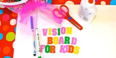 Kids Vision Board Party with Zumba Kids