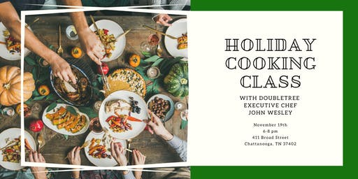 Holiday Cooking Class