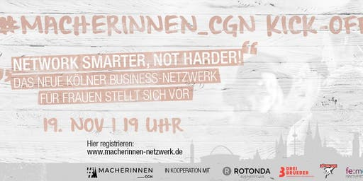 #Macherinnen CGN Kick-Off