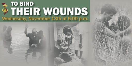 An evening To Bind Their Wounds: Free moderated panel with US Navy Vietnam Veterans