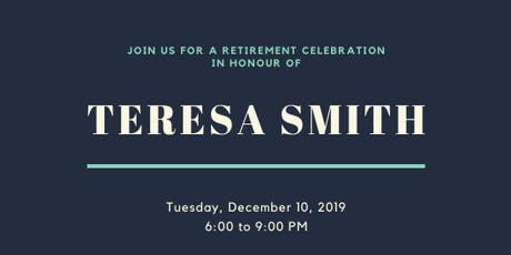 Teresa Smith's Retirement Celebration tickets