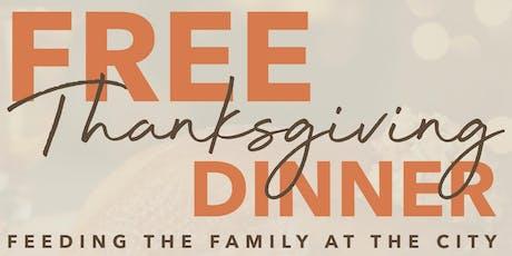 FREE Thanksgiving Dinner tickets