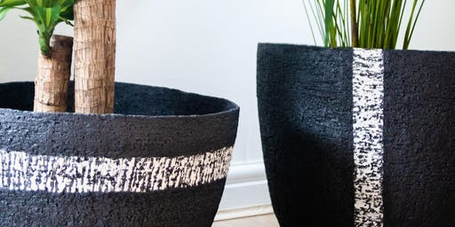 Large Scale garden planters - Full weekend Adult pottery workshop