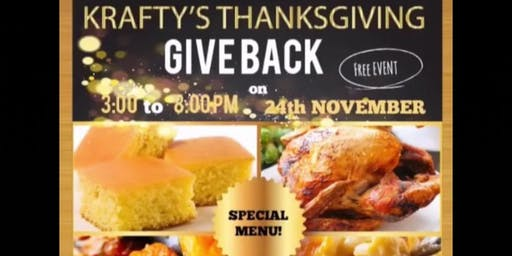 Krafty's Thanksgiving Giveback