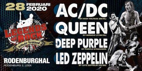 Legends of Rock Tribute Festival tickets