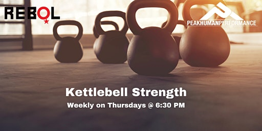 """""""Kettlebell Strength"""" Workout Session"""
