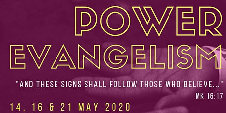 Power Evangelism Modular Course tickets