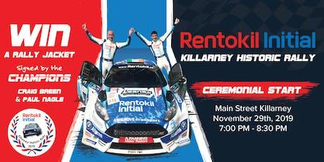 Rentokil Initial Killarney Historic Rally 2019 tickets