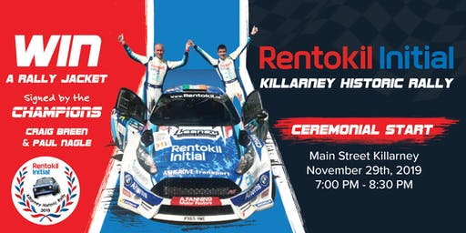 Rentokil Initial Killarney Historic Rally 2019