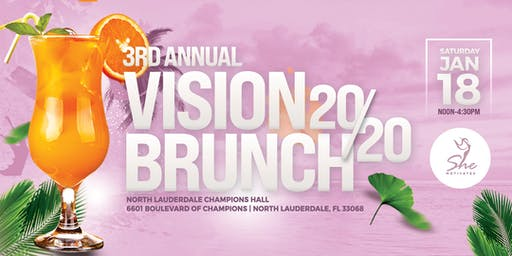 3rd  Annual Vision 20/20 Brunch