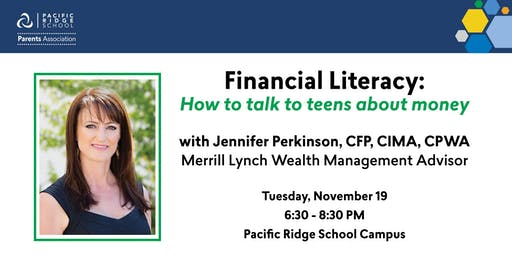 Financial Literacy: How to talk to teens about money