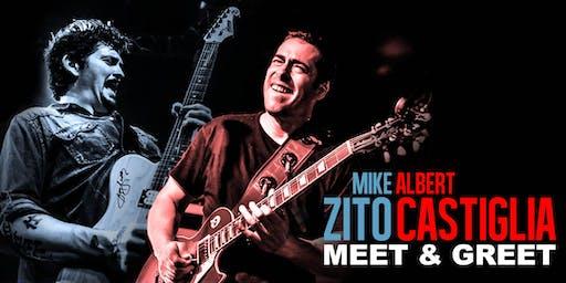 Mike Zito & Albert Castiglia Meet & Greet!