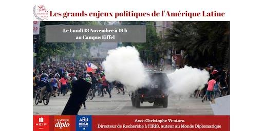 Conférence : Les grands enjeux de l'Amérique Latine