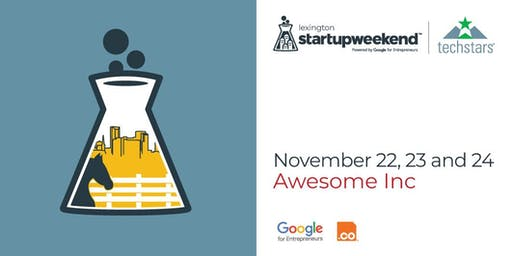 Techstars Startup Weekend Lexington 11/22