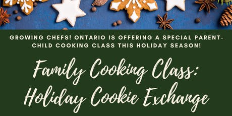 Family Cooking Class: Holiday Cookie Exchange tickets