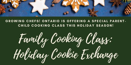 Family Cooking Class: Holiday Cookie Exchange