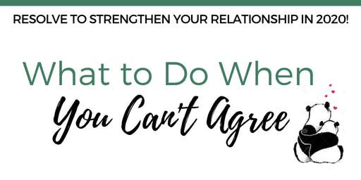 What to Do When You Can't Agree