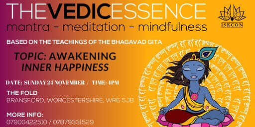 vedic. essence- awakening inner happiness
