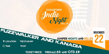 Guildford Indie Night vol. 15 tickets
