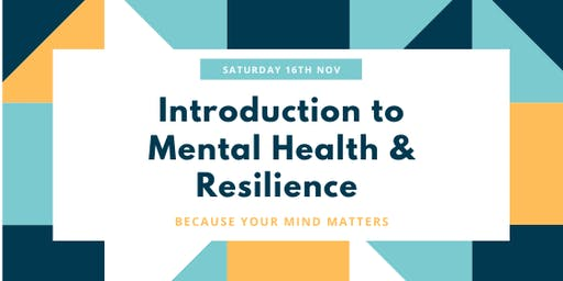 Introduction to Mental Health & Wellbeing Workshop