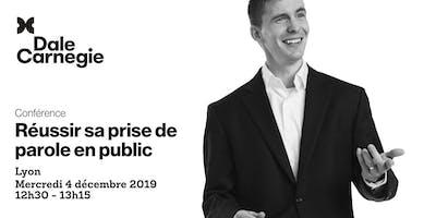 Réussir sa prise de parole en public - Conférence à Lyon