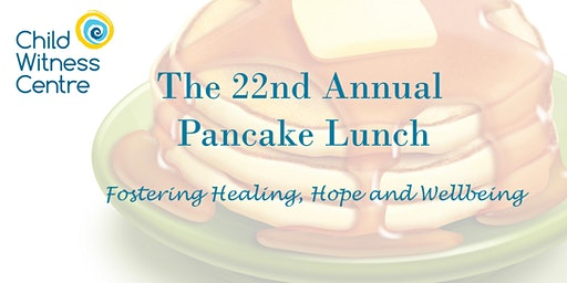 2020 Child Witness Centre Pancake Lunch