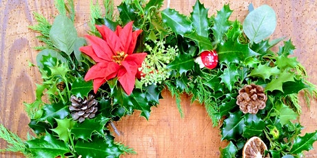 Holly Wreath Workshop, Stuart House, Liskeard tickets