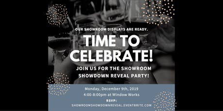 Showroom Showdown Reveal Party tickets