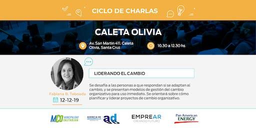 Ciclo de Charlas Caleta Olivia: LIDERANDO EL CAMBIO