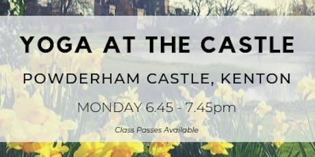Yoga At The Castle - Powderham Castle tickets