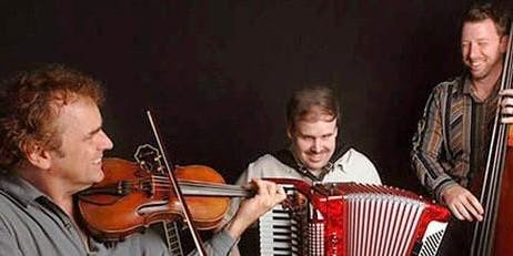 Music for Seniors presents the Gypsy Hombres at Plaza Mariachi